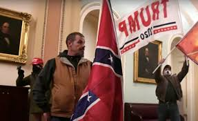 Del. man with Confederate flag in Capitol riot charged - WHYY